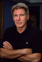 2002 --- Harrison Ford during a promotional tour for the movie K-19: The Widowmaker. --- Image by ? Viviane Moos/CORBIS